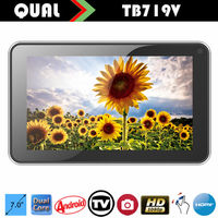 Hot Selling,7 inch ISDB-T tablet pc tablet pc analog tv Allwinner A20 Dual Core two Camera T