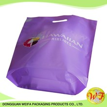 die cut handle plastic shopping bag made in China