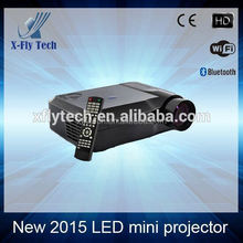 2015 Hottest! 3D Full HD Mini Theater Led Projector C5D Home Cinema 1080P 1280*800