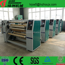Auto Thin Edge Film Thermal Paper Jumbo Roll BOPP Tape Lable Woven Non Woven Fabric Paper Slitting Rewinding Machine