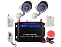 Home Security GSM Wireless Burglar Alarm System SMS/MMS/DVR/3G Camera GPRS alarm