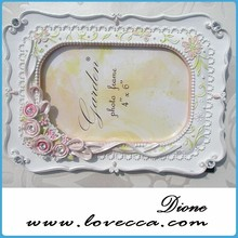 New arrival wholesale class white porcelain picture frames