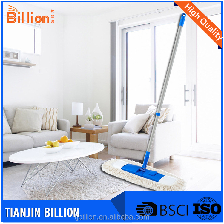 Low cost high quality standard household solid color easy cleaning mop