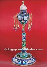 Fb-0250 Russian silver kiakhta incense burner