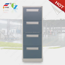 bright iron cabinet/4 layer file cabinet steel cabinet
