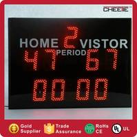 Wall Mounted Mini Digital Manual Electronic Tennis Scoreboard for Sale