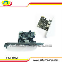 2 ports USB3.0 to PCI express parallel card