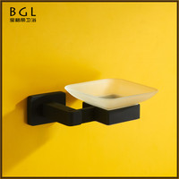 17639-rp best selling hot chinese products zinc alloy rubber paint bathroom accessory soap holder