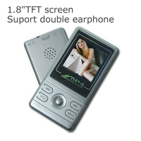 1.8 TFT screen double earphone mp4 player mp4 download hindi video songs