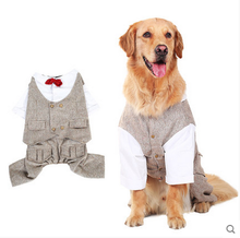 XXX Dog Clothes Gentleman Vest Dog Suit Wholesale Pet Clothing