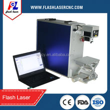 10W Laser Marking Application Animal ear tag making equipments with Air cooling--Built-in