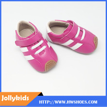Baby flexible leather shoes skidproof little kids first step footwear