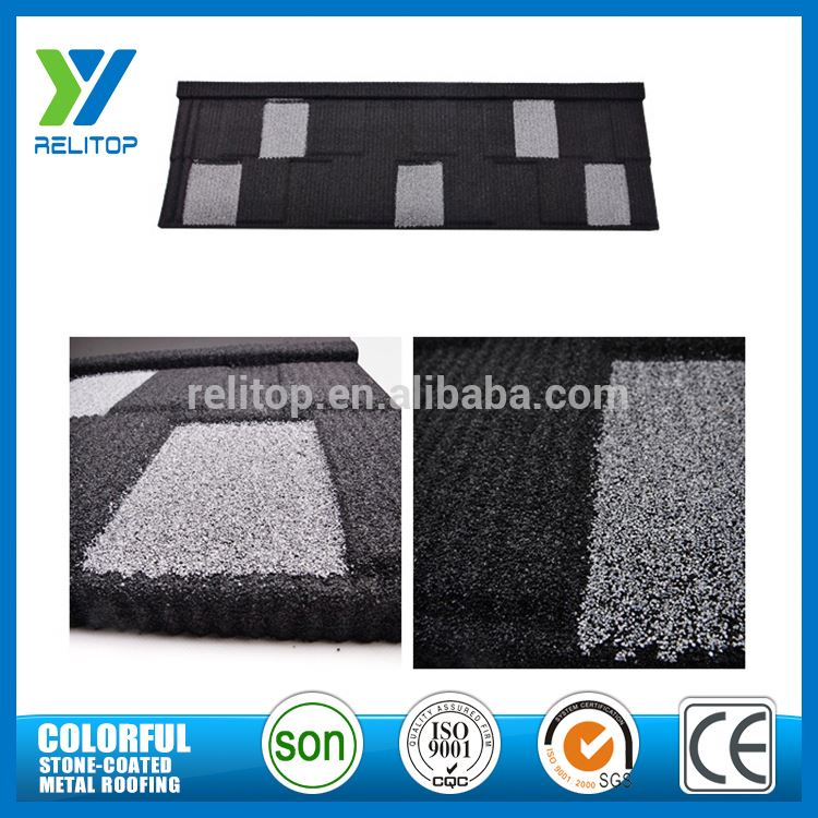 Al-Zinc Stone Chip Coated Shingle Style Roof Tile for Building