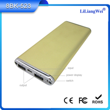 High quqlity ultra slim portable product 5v usb 5000mah power bank from Bluetimes