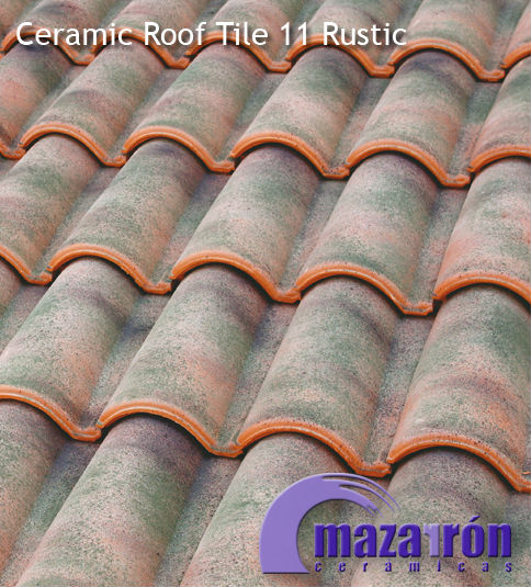 Mixed Ceramic Roof Tile 11 Rustic
