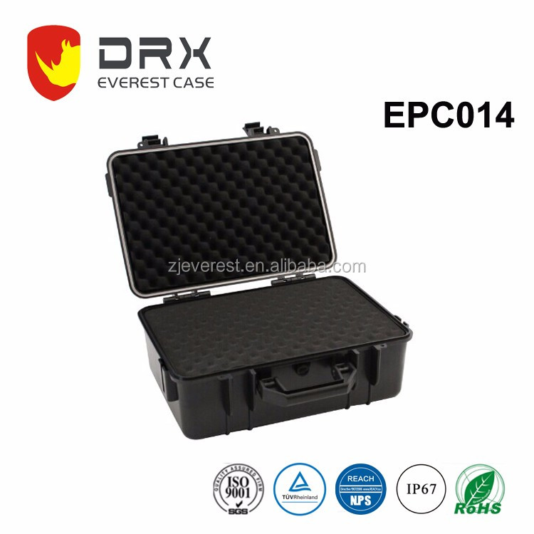 waterproof equipment case with Foldable Handle for pistols