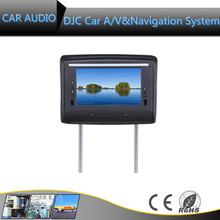 Hot selling HD headres TV 11280*720 China Auto headrest DVD with Android 5.1 system