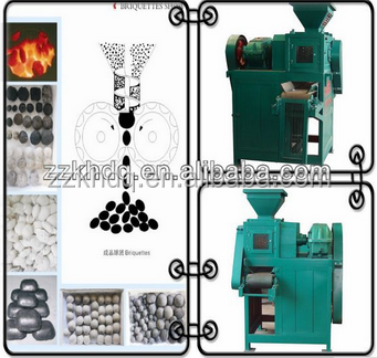 Kehua charcoal powder briquette machine coal ball press making machine in Indonesia, India, Malaysia