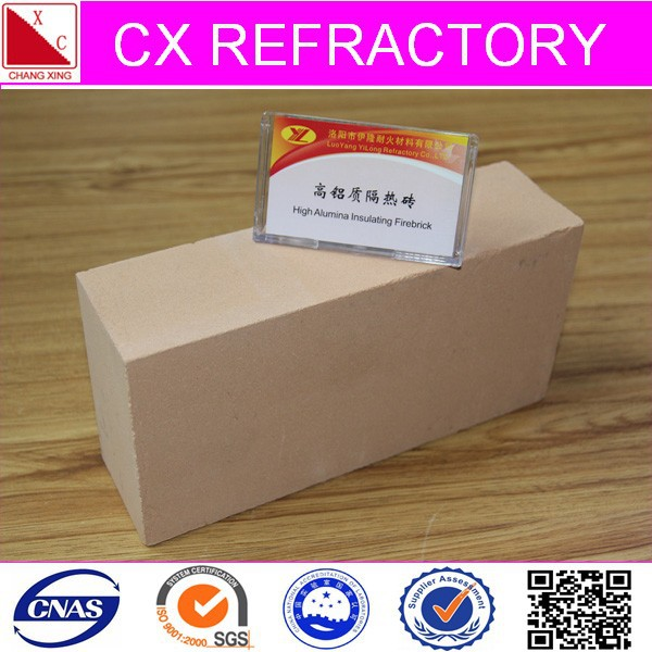 spalling resistant refractory high alumina fire brick types