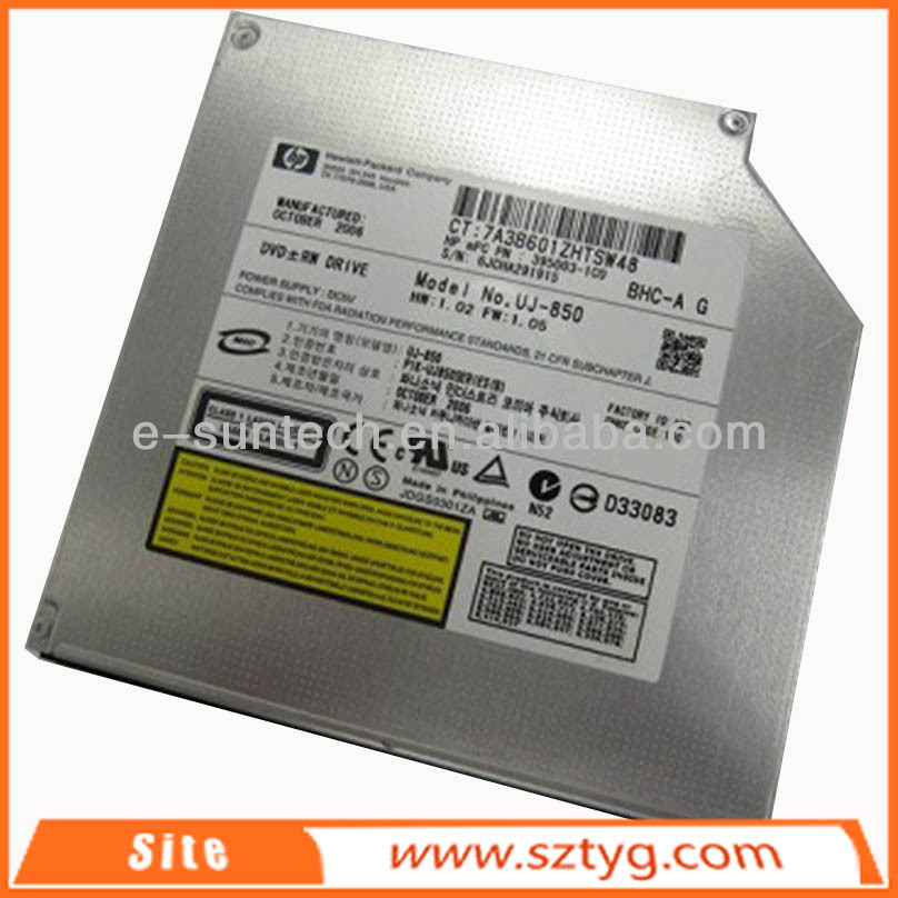 UJ850 Competitive Price Laptop internal dvd write burner/IDE tray-load dvd drive for UJ850
