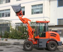 mitsubishi tractor SZM mini loader zl-16 with changchai engine joystick quick change option attachments