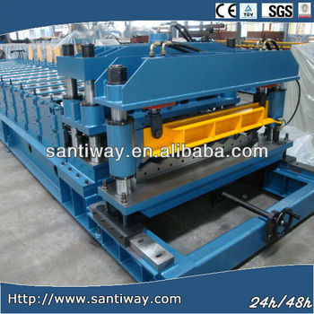 steel roof profile making machine