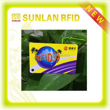 ISO CR80 125Khz Writable T5577 RFID Card For Security System