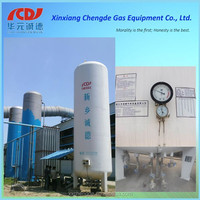 CNCD stainless steel cryogenic liquid storage tank for sale