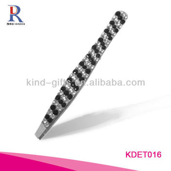 Wholesale Custom Logo Crystal Rhinestone Tweezer For Promotional Gift