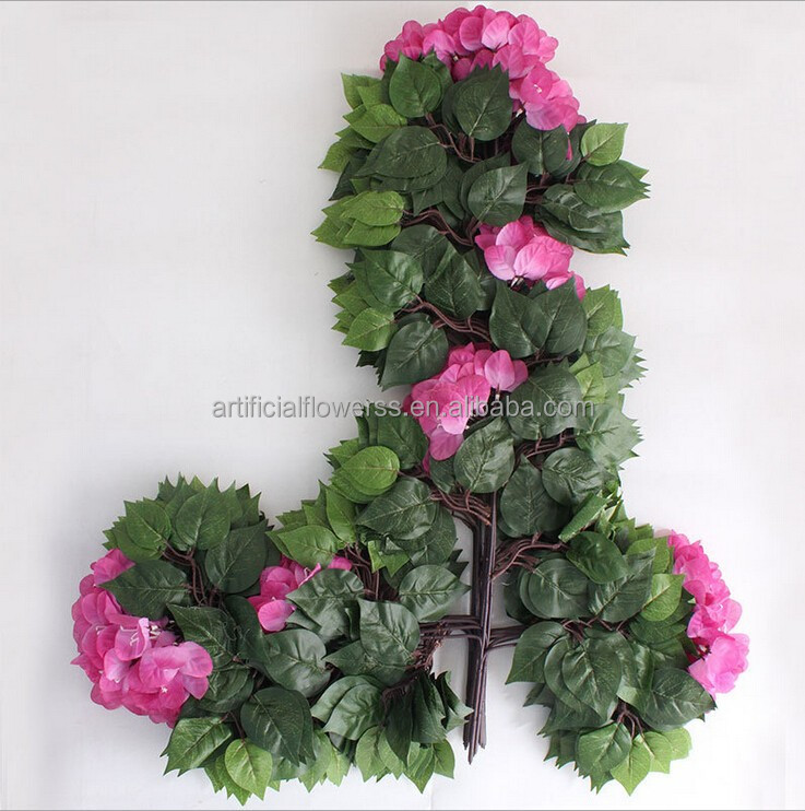 artificial bougainvillea tree branch wedding hanging decoration flower