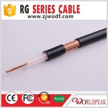 75 ohm cctv coaxial cable best price RG58 RG59 RG6 RG11 RG213 KX6(ROHS,UL,CE,ISO9001 Approved)