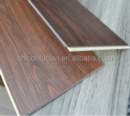 Waterproof Commercial Wood Grain Vinyl Sheet Plank