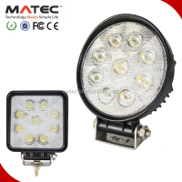 super bright offroad cars & engineering light 27w led work light