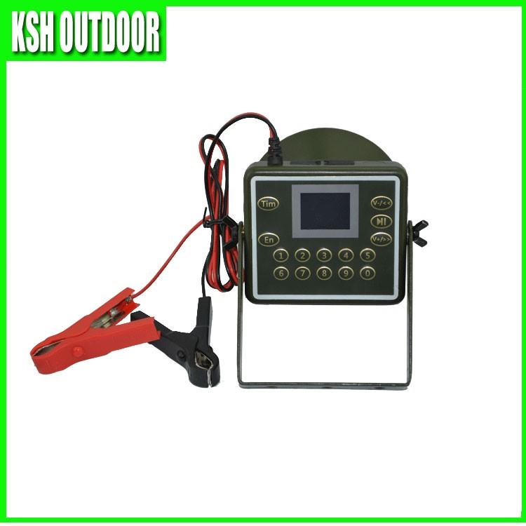 2017 New Factory 60W Duck Mp3 Hunting Birds Calls Tool with Timer