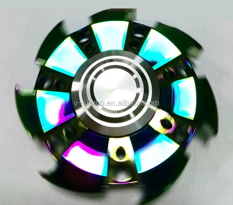 Shenzhen very small New Hot Fidget Spinner Unique Led Flashing Hand Fidget Spinner