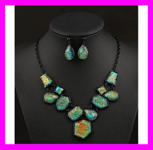 Hot fashion fancy ladies wholesale cheap indian jewelry sets HD3599