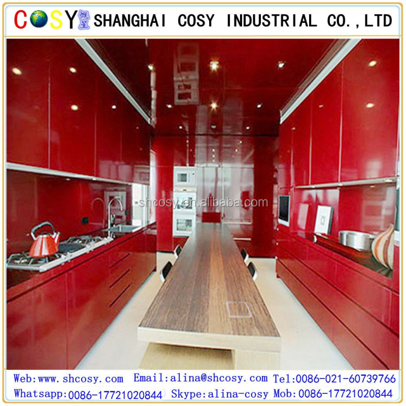high gloss acrylic sheet for kitchen carbinets