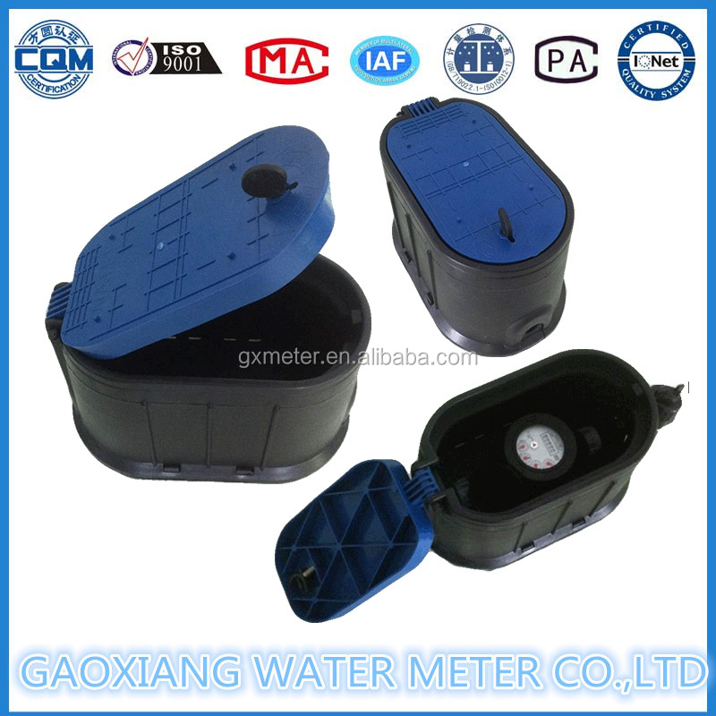 Plastic water flow meter box with competitive price