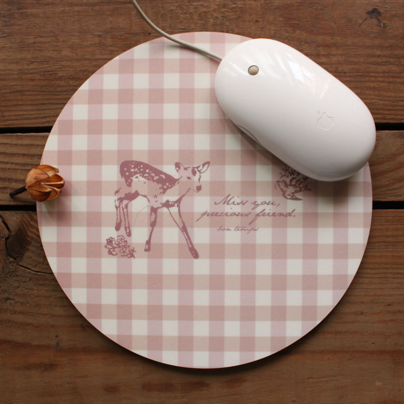 blank white neoprene mouse mat/pad for sublimation