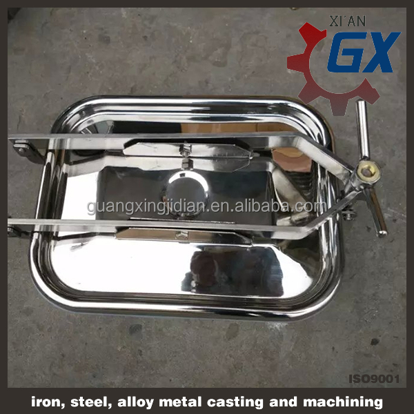 stainless steel tank manhole cover