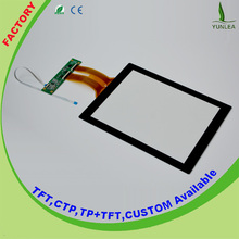 6H Surface Hardness 12.1 inch 4:3 projected capacitive touch screen