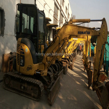 Mini excavator PC35MR-2 used Japan's original mini excavator digger in shanghai for sale