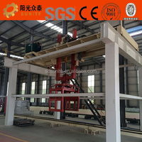 sand aerated autoclaved concrete porous block forming plant for making light weight blocks