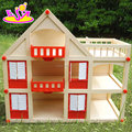 Best supplies mini wooden amazon dollhouse for sale W06A318