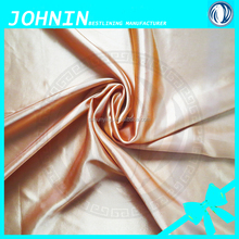 manufacturer china polyester lining fabric satin textile bedding set for chair cover