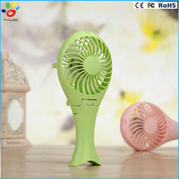 Portable Folding Mermaid Rechargeable Electrical Fan Mini Hand Held USB Cooling Fan