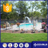 Pvc Coated Ornamental Double Loop Wire Fence
