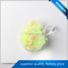 body exfoliating polishing flower bath sponge with competitive price