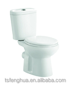 New Design Washdown P-Trap Two Piece Colorful Toilet Ceramic Sanitary Ware Bathroom WC