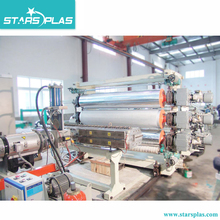 Security marble stone plastic sheet extrusion line / extruder